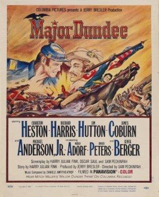 Major Dundee movie poster (1965) poster MOV_57723819