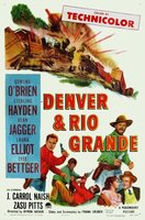 Denver and Rio Grande movie poster (1952) picture MOV_579280b0
