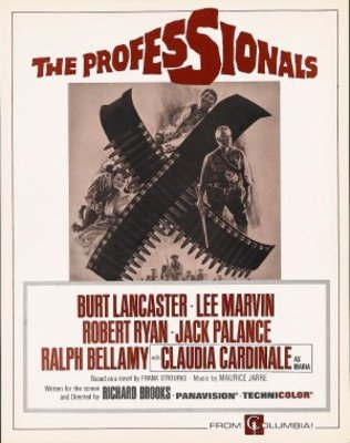 The Professionals movie poster (1966) poster MOV_57a2825d