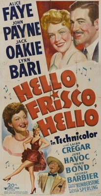 Hello Frisco, Hello movie poster (1943) poster MOV_57b1c95a