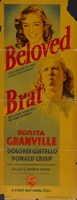 The Beloved Brat movie poster (1938) picture MOV_57e2f640