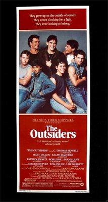 The Outsiders movie poster (1983) poster MOV_581dce1b