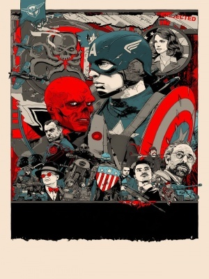Captain America: The First Avenger movie poster (2011) poster MOV_581f4a97
