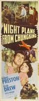 Night Plane from Chungking movie poster (1943) picture MOV_582b1155
