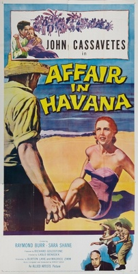 Affair in Havana movie poster (1957) poster MOV_5843a2f5