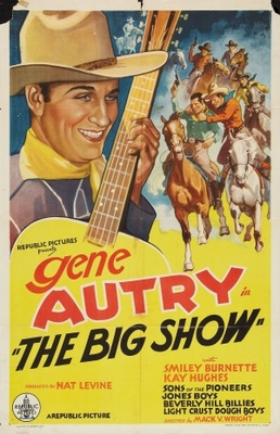 The Big Show movie poster (1936) poster MOV_58458384
