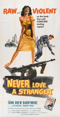 Never Love a Stranger movie poster (1958) poster MOV_5847997a