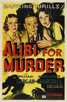 Alibi for Murder movie poster (1936) picture MOV_585179b7