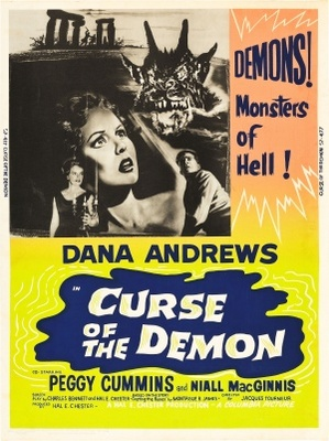 Night of the Demon movie poster (1957) poster MOV_5856632c