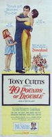 40 Pounds of Trouble movie poster (1962) picture MOV_70be859b