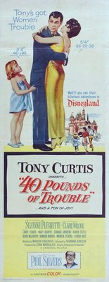 40 Pounds of Trouble movie poster (1962) poster MOV_586ec8c7