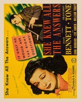She Knew All the Answers movie poster (1941) picture MOV_58745aca