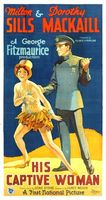 His Captive Woman movie poster (1929) picture MOV_5878ce82