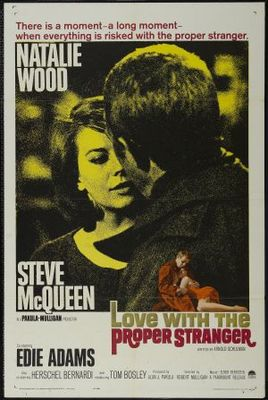 Love with the Proper Stranger movie poster (1963) poster MOV_5888cb98