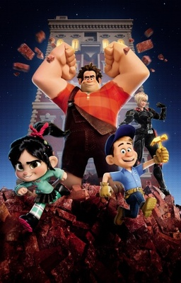 Wreck-It Ralph movie poster (2012) poster MOV_58a20fbc