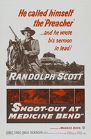 Shoot-Out at Medicine Bend movie poster (1957) picture MOV_58bb5f30