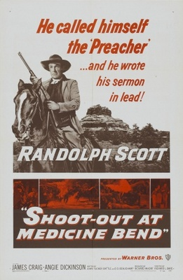 Shoot-Out at Medicine Bend movie poster (1957) poster MOV_58bb5f30