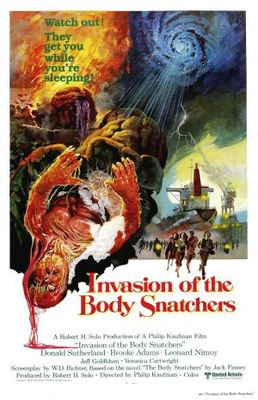 Invasion of the Body Snatchers movie poster (1978) poster MOV_58c9b6b5