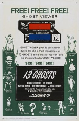 13 Ghosts movie poster (1960) poster MOV_58d34f62