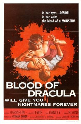 Blood of Dracula movie poster (1957) poster MOV_58f31ce1