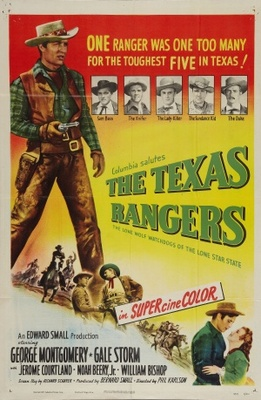 The Texas Rangers movie poster (1951) poster MOV_58fe2c67