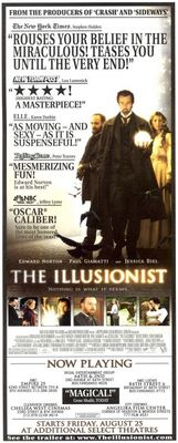 The Illusionist movie poster (2006) poster MOV_59096c31