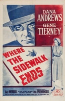 Where the Sidewalk Ends movie poster (1950) picture MOV_59353327