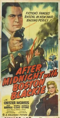 After Midnight with Boston Blackie movie poster (1943) poster MOV_5943b576