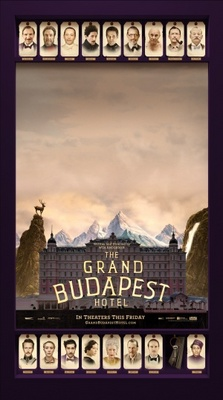 The Grand Budapest Hotel movie poster (2014) poster MOV_595f077e