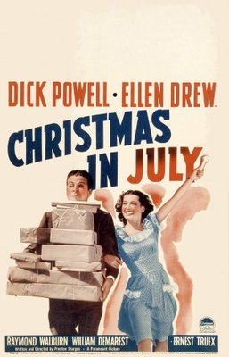 Christmas in July movie poster (1940) poster MOV_5975b704