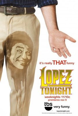 Lopez Tonight movie poster (2009) poster MOV_597d1e4f