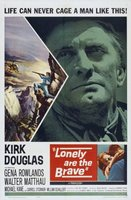 Lonely Are the Brave movie poster (1962) picture MOV_599f72ac