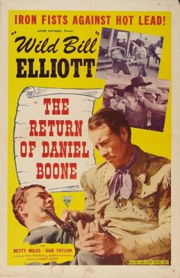 The Return of Daniel Boone movie poster (1941) poster MOV_59a44de1