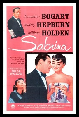 Sabrina movie poster (1954) poster MOV_59b15f12