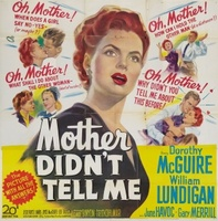 Mother Didn't Tell Me movie poster (1950) picture MOV_59bf8030