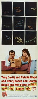 Sex and the Single Girl movie poster (1964) poster MOV_59c2c662