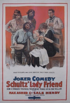Schultz's Lady Friend movie poster (1915) poster MOV_59c4aaec