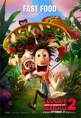 Cloudy with a Chance of Meatballs 2 movie poster (2013) poster MOV_59c5caf5