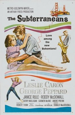 The Subterraneans movie poster (1960) poster MOV_59cf69be