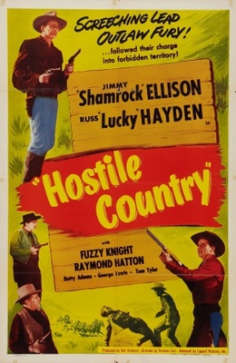 Hostile Country movie poster (1950) poster MOV_59db932d
