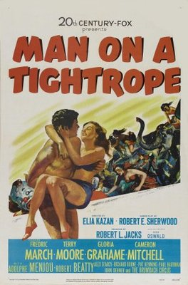Man on a Tightrope movie poster (1953) poster MOV_59de343f