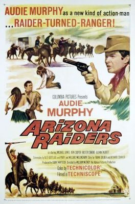 Arizona Raiders movie poster (1965) poster MOV_59ef8908