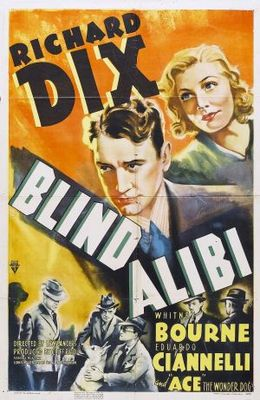 Blind Alibi movie poster (1938) poster MOV_5a254a1f