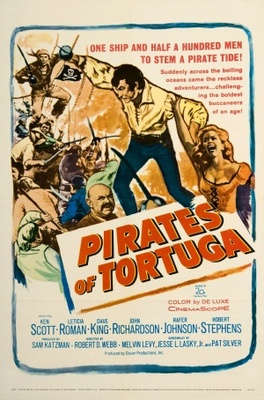 Pirates of Tortuga movie poster (1961) poster MOV_5a36fffd