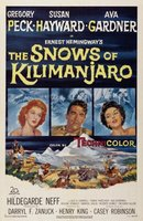 The Snows of Kilimanjaro movie poster (1952) picture MOV_5a4004bc