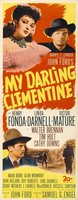 My Darling Clementine movie poster (1946) picture MOV_5a4a1b71