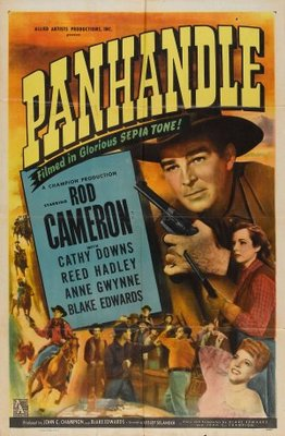 Panhandle movie poster (1948) poster MOV_5a4c1f35