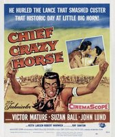 Chief Crazy Horse movie poster (1955) picture MOV_5a50d016