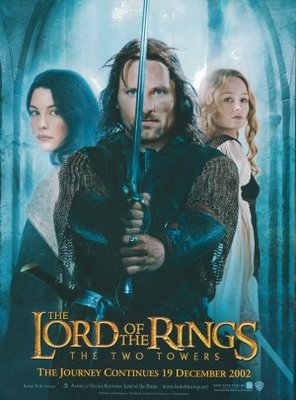 The Lord of the Rings: The Two Towers movie poster (2002) poster MOV_5a5857cf