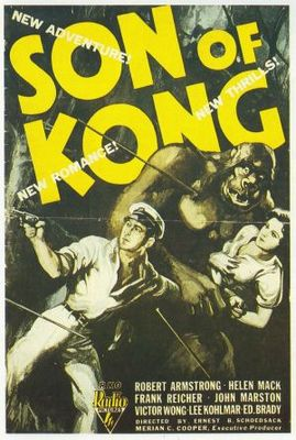 The Son of Kong movie poster (1933) poster MOV_5a5c35c5